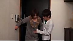 Beautiful Japanese Milf fucked by Son