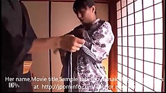 japanese milf fuck hard.kimono lady.big tits.huge boobs.