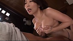 Fast titfuck with japanese wife mom