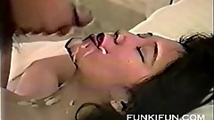 Japanese chick loves to swallow cum part 4