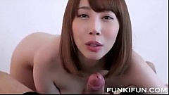 Hot amateur Japanese blowjob