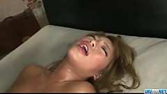 Rough Aisan threesome along big tits model&nbsp_Rumika