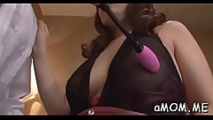 Strong pov sex with a sexy mom
