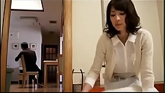 Japan boy seduced stepmom in kitchen 1 - Watch Part 2 On HDMilfCam.com