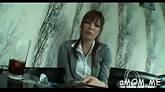 Sexy mother i&#039_d like to fuck tries asian porn on web camera