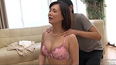 Horny japanese milf craves sex