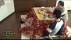 Japanese Mama Secretly Kotatsu Game 3  LinkFull: http://q.gs/E5nHg