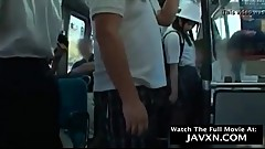 Asian Schoolgirl Gets Molested On The Bus. Watch The Full Movie At: JAVXN.COM